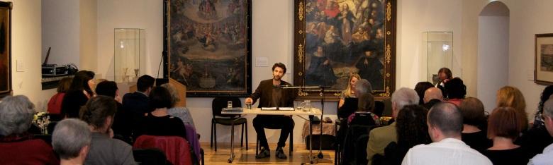 @ Literarische Gesellschaft St. Pölten, Stadtmuseum, 2015; Foto: privat; http://www.litges.at/etcetera/lyrik/60unentwegtlyrik-stefan-reiser-guad