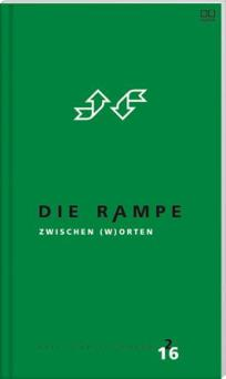 """""""St. Pölten – Wien, Schärding, Praterstern, Südtiroler Platz, Arbeitszimmer"""" (Kürzestgeschichten), alle zuerst in: Adalbert-Stifter-Institut (Hrsg.), Die Rampe – Hefte für Literatur, Nr. 2, Trauner Verlag, Linz 2016. http://www.trauner.at/Buchdetail/22198521"""