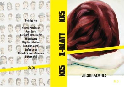 """""""St. Marienkirchen"""" (Kürzestgeschichte), in: GAV OÖ (Hrsg.), X-BLATT. Heft für Literatur im Textautomaten, Nr. 5, Linz 2020. Erhältlich im Exxtrablatt, Spittelwiese 6, Linz. http://www.gav-ooe.mur.at/x-blatt.html"""